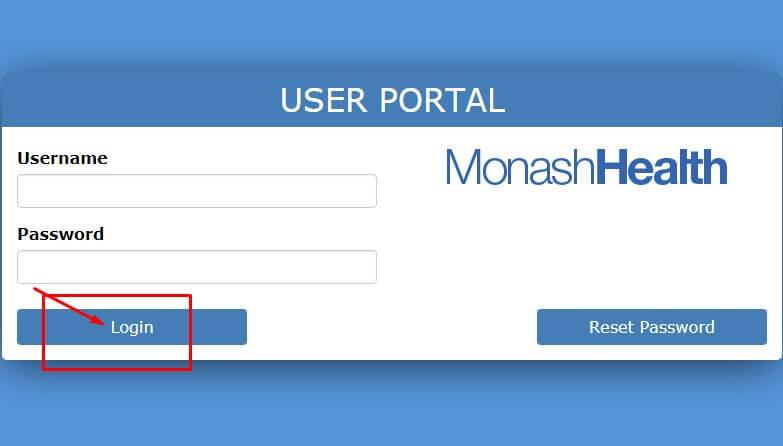 monash health login