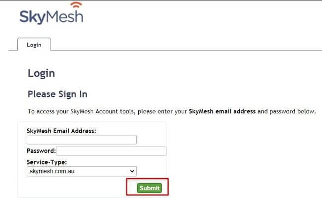 skymesh account tools login