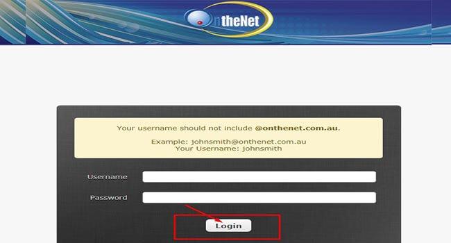 onthenet webmail login