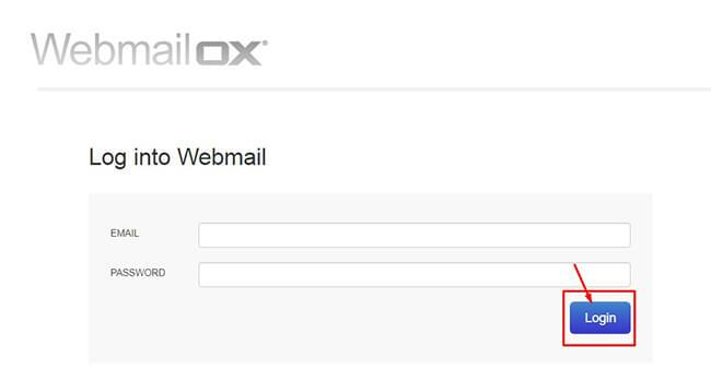 ox webmail login