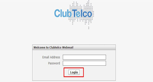 clubtelco webmail login