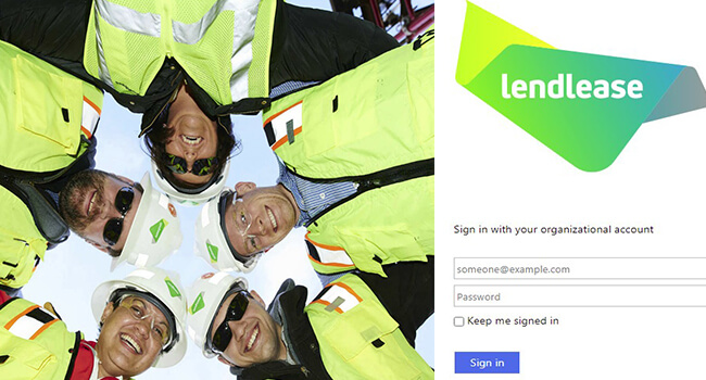 lendlease webmail sign in